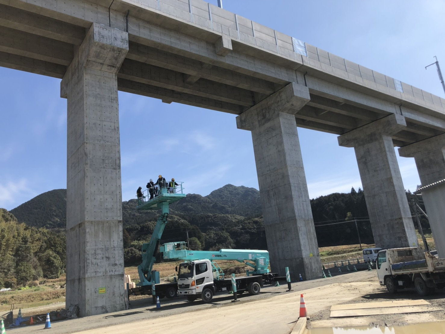 佐賀県武雄市 土木型枠工事 2020年竣工 (1)